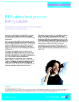 BT staff best practice case study